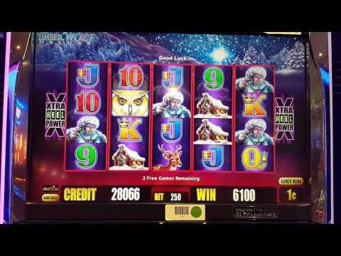 TIMBERWOLF Deluxe Slot Big Win Bonus