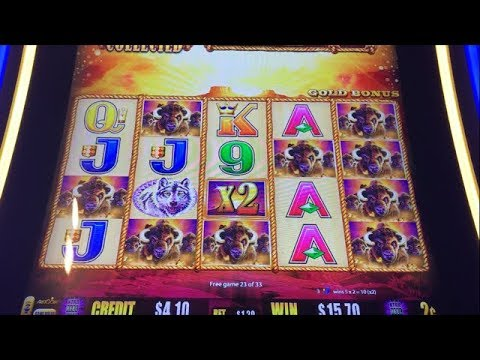 SUPER BIG WIN! Buffalo Gold Slot Bonus