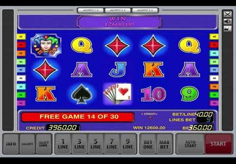 30 Free Spin On the King Of Card Slot Machine – Jackpot Mega Win