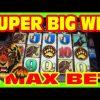WILD WAYS – MAX BET SUPER BIG WIN  – Slot Machine Bonus RETRIGGER