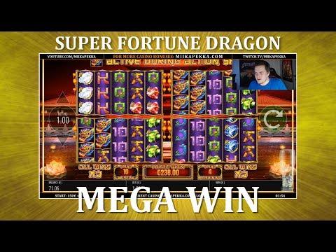 MEGA WIN – Super Fortune Dragon