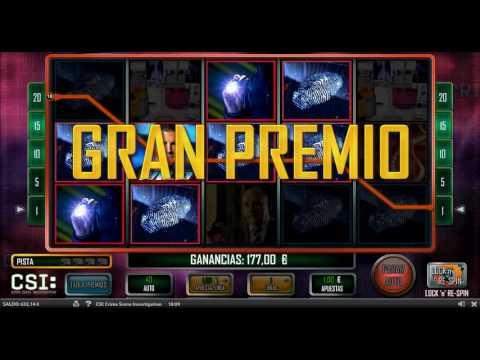 MEGA WIN CSI Slot en CasinoBarcelona.es