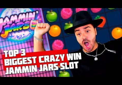 TOP 3 BIGGEST CRAZY WIN! JAMMIN JARS SLOT! ROSHTEIN WON IN THE AMOUNT OF 50K EUROS!