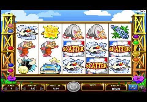 IGT Slot machine Texas Tea BIG WIN!!