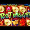 5 Dragons Bonus + RETRIGGER BIG WIN!!! – 5c Aristocrat Video Slots