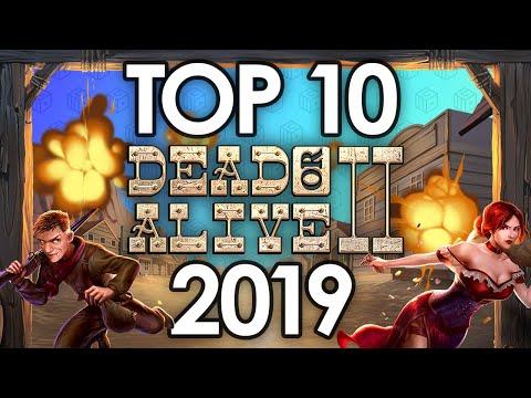 Top 10 Wins 2019 – Dead or Alive 2 slot