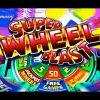SUPER WHEEL BLAST SLOT – 50 FREE SPINS! – BIG WIN! – Slot Machine Bonus