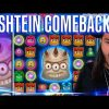 ROSHTEIN Comeback on twitch – Mega Win on Reactoonz slot