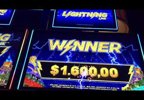 High limit Huge win Lightning Link slot Bonus