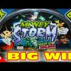 Money Storm – MAX BET BIG WIN + RETRIGGERS – Slot Machiine Bonus