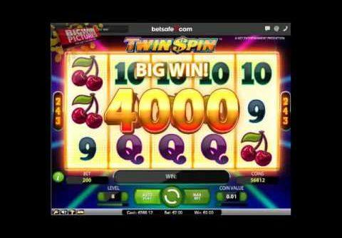 Twin Spin – SUPER MEGA BIG wins!