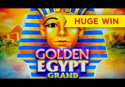 Golden Egypt Grand Slot – BIG WIN BONUS!