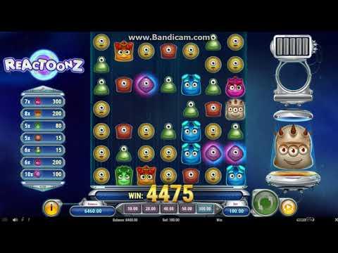 Reactoonz Slot Biggest Win EVER! / Reactoonz Slot New Record Win