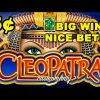 BIG WIN! – Cleopatra 5cent denom…NICE BET! – Slot Machine Bonus
