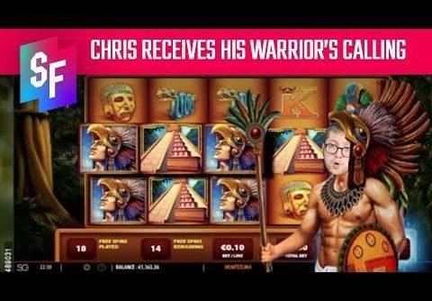 Chris Conquers The Montezuma Slot With A Mega Win
