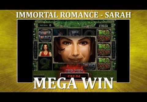 MEGA WIN – Immortal Romance – Sarah