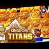 KINGDOM OF THE TITANS – SPINNING STREAK   WMS – BIG Win! Slot Machine Bonus