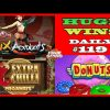 6 Acrobats [HUGE WIN], Donats slot (MEGA WIN), Extra Chilli MEGAWAYS (BIG WIN) DAILY #119