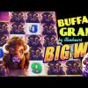 BUFFALO GRAND slot machine Min Bet Bonus & BIG WIN MEGA LINE HIT!
