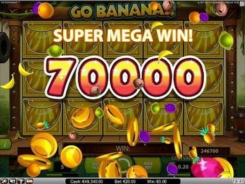 Go Bananas – NEW SLOT MACHINE – Mega Win