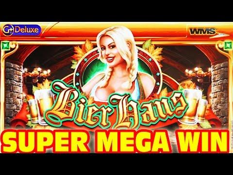Bier Haus SUPER MEGA BIG WIN + Retriggers Slot Machine Bonus