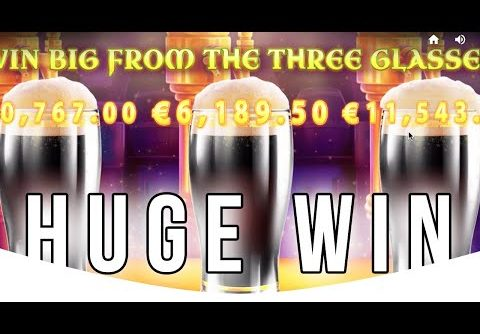 TRIPLE Beer Bonus Gives MEGA WIN at Rainbow Jackpots Slot