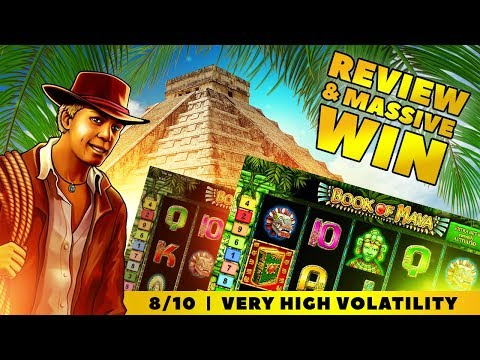 Book Of Maya Slot Review (Novomatic) and MEGA WIN!!!