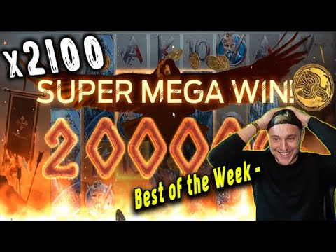 CasinoDaddy – Top 5 Biggest Wins in a week! Vikings slot! Online Casino! #1