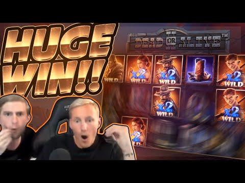 HUGE WIN!!! Dead Or Alive 2 BIG WIN!! Online Slot from CasinoDaddy Live Stream
