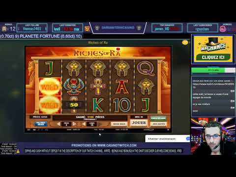 SLOT ONLINE Super big win base game full ligne premium RICHES OF RA X300 !!!