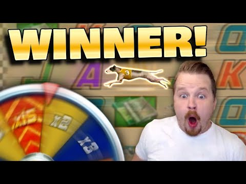 BIG WIN in Wildhound Derby Slot