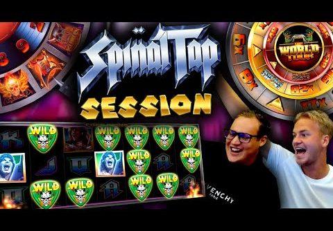 Crazy Slot Session on Spinal Tap slot (BIG WIN)