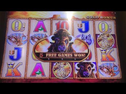 BIG BONUS JACKPOT | How to Win on Buffalo Gold Casino Slot Machine Max Bet | Super Big Win