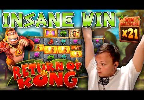 HUGE MEGA WIN on Return of Kong Megaways!!