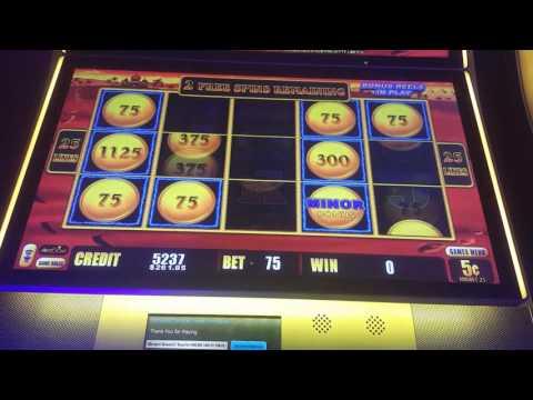 Lightning Link Big Win! Slot machine, $250 Minor Jackpot!
