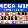 MEGA WIN ON LOVELY LADY – AMATIC
