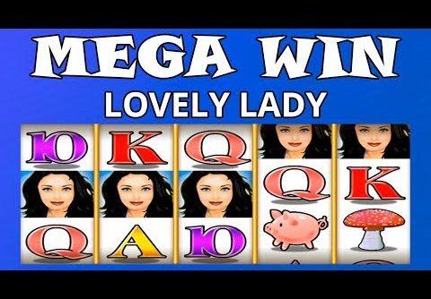 MEGA WIN ON LOVELY LADY – AMATIC