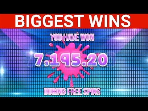 BIGGEST CASINO WINS BY David Labowsky &  Slotspinner ( big win & slot machine )