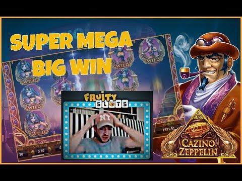 SUPER MEGA BIG WIN!! – Casino Zeppelin Gone Wild! (Online Slots)