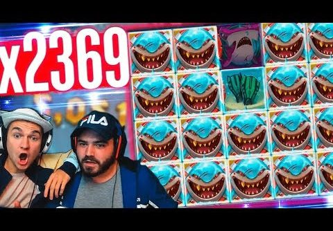 Record win Razor Shark slot on stream – Top 5 BIG WINS  in slot