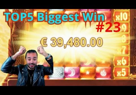 BIG RECORD €40000 WIN!! (1908x) TheBestMoments | TOP5 Biggest Wins #23