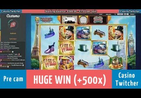 Super Monopoly Money – 1h 48min session – HUGE WIN + Wheel spin!