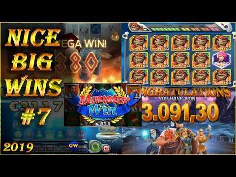 Nice big wins #7 / 2019   casino streamers, online slots.