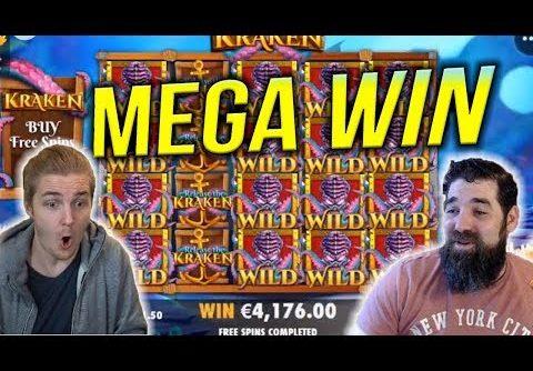 Casino big win #26 ROAMING KRAKEN SPINTWIX CRAZY MEGA WIN
