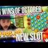 ROSHTEIN Mega win on new slot HONEY RUSH  – Top 5 Biggest Wins of October