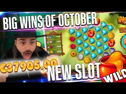 ROSHTEIN Mega win on new slot HONEY RUSH  – Top 5 Biggest Wins of October