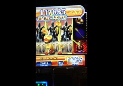 Black Knight Slot Bonus Win (could not record right because of security)