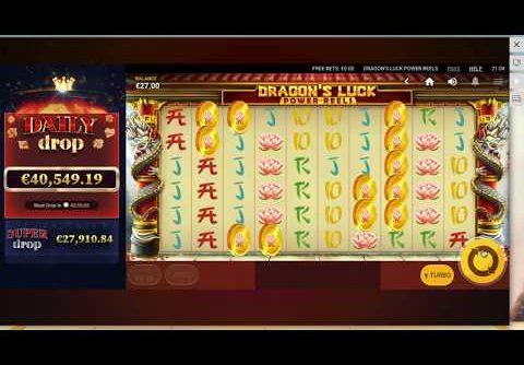 Dragon's Luck Online Slot MEGA Win (Lucky Dragon)