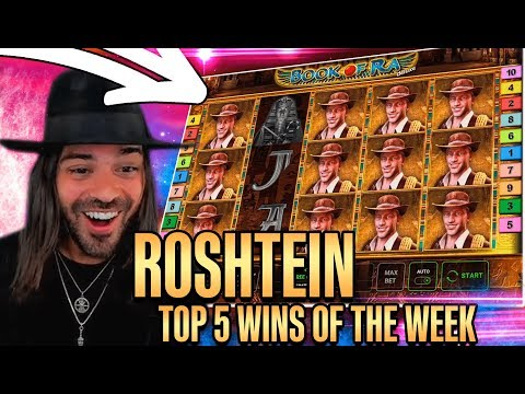 ROSHTEIN Win 37.000€  on Book of Ra slot – Top 5 Biggest Wins of week