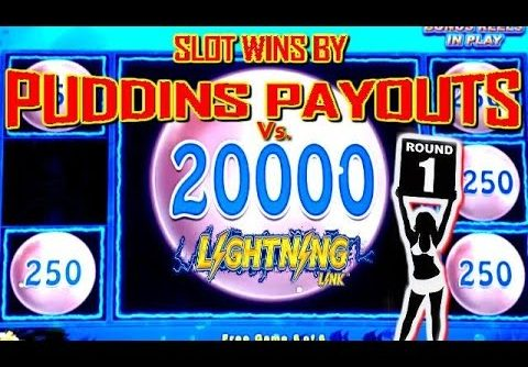 **BIG WINS** LIGHTNING LINKS SLOT PLAY (ROUND1 Pudding Payouts)